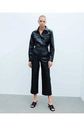 İpekyol Culotte Fit Deri Pantolon 4