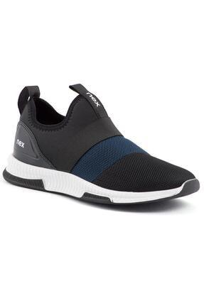 NEX 707 Siyah Lacivert Erkek Spor Ayakkabı 4