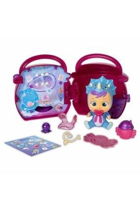 Cry Babies Magic Tears Fantasy Paci Evler Sürpriz Paket Cym02000 - Koyu Pembe 0