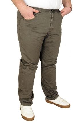 Picture of Büyük Beden Erkek Gabardin Pantolon 21001 Haki