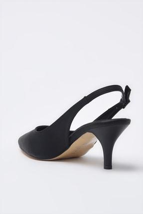 Hotiç Siyah Kadın Klasik Topuklu Ayakkabı 01AYH205370A100 3