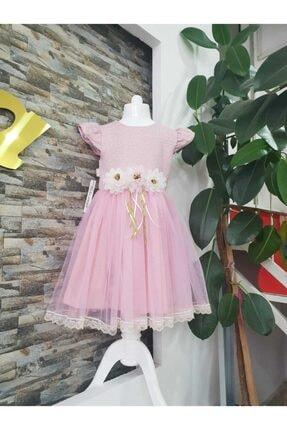 Miss Rana Tüllü Abiye Çocuk Elbise 1