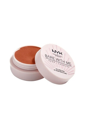 NYX Professional Makeup Işıltılı Allık - Bare With Me Jelly Cheek Color 03 Sızzlıng Sun 0
