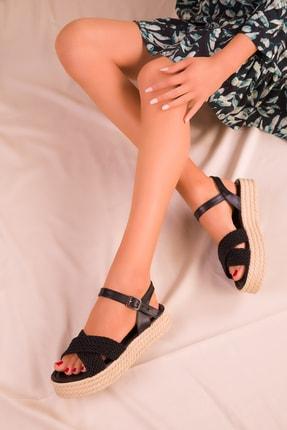 Soho Exclusive Siyah Kadın Sandalet 14952 0