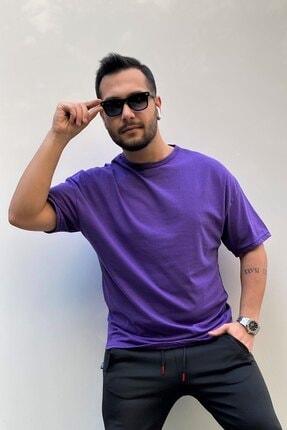 VİP LOKAL Erkek Oversize Basic T-shirt 0