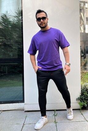 VİP LOKAL Erkek Oversize Basic T-shirt 1