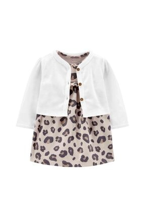 تصویر از 1j943010 Layette Kız Bebek Beyaz Elbise Set