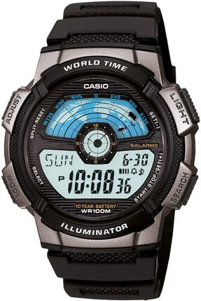Casio Ae-1100w-1avdf Erkek Kol Saati - 10 Yıl Pil Ömrü 0