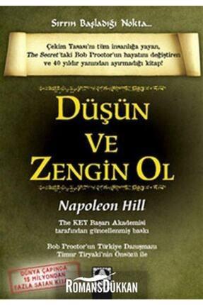 Altın Kitaplar Düşün Ve Zengin Ol - Napoleon Hill - 0