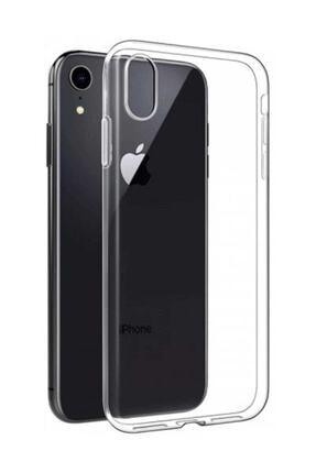Telefon Aksesuarları Iphone Xr Toz Koruma Ultra Ince Şeffaf Silikon Kılıf 0
