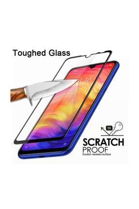 FiberAksesuar Samsung Galaxy A50 9d Tam Tam Kaplayan Koruma Full Kapatan Kavisli Kırılmaz Cam Ekran Koruyucu 3