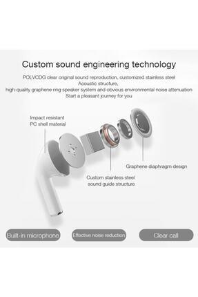 Teknoloji Gelsin Airpods Pro 5 Kablosuz Kulaklık Bluetooth Kualklık Beyaz 2