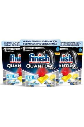 Finish Quantum Max Bulaşık Makinesi Deterjanı 144 Kapsül Limonlu 48 X 3 1