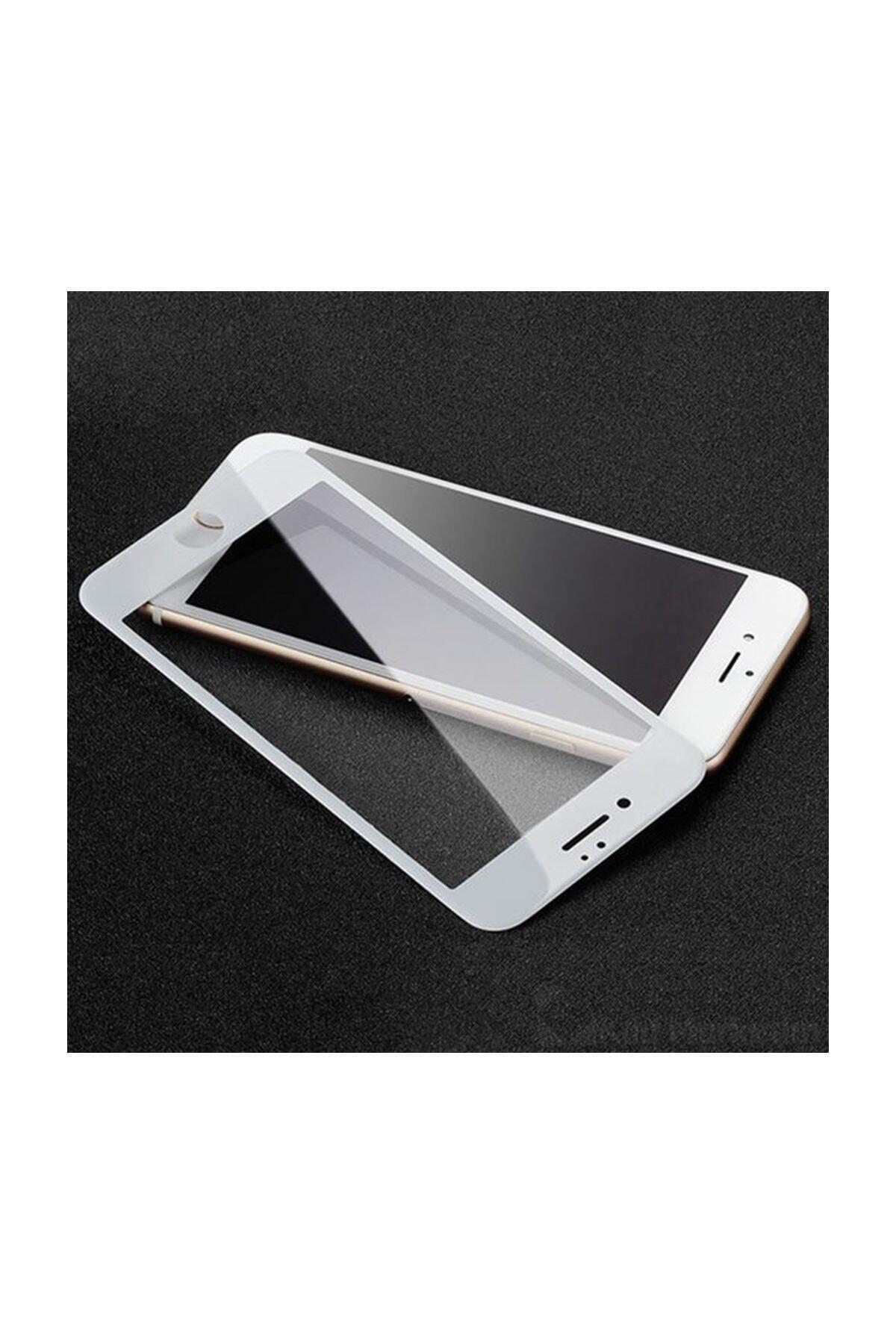 iPhone 8 Plus Kavisli Tam Kaplayan 9D Ekran Koruyucu Film