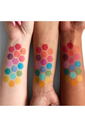 NYX Professional Makeup Vegan Renkli Makyaj Seti & Çanta Hediyeli 4