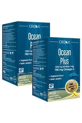 Orzax Plus 1200 Mg Omega3 Balık Yağı 50 Kapsül 2 Adet Skt: 04/2023 0