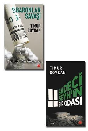 Kırmızı Kedi Yayınları Timur Soykan 2 Kitap( Badeci Şeyh'in Sır Odası - Baronlar Savaşı - Zindaşti Olayı'nın Perde Arkası ) 0