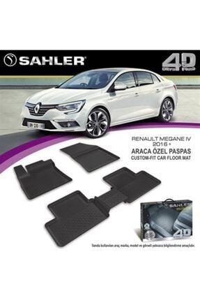 Sahler Renault Megane 4 Sedan 2016 Model Sonrası Uyumlu 4.5d Havuzlu Paspas Takımı 2