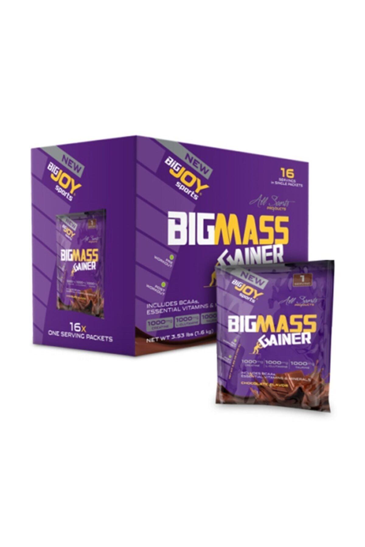 Bigjoy Big Mass 1600 G 16 Saşe - Çikolata 8681429066994