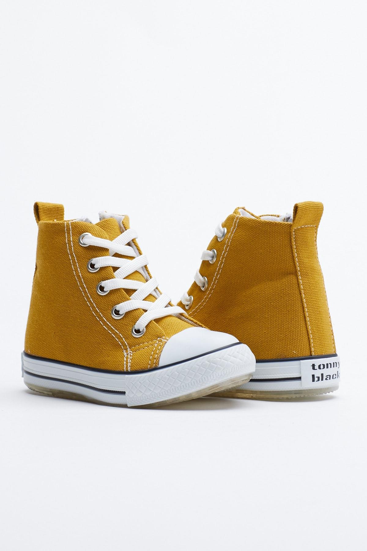 Tonny Black Hardal Çocuk Spor Ayakkabı Uzun Tb999 1