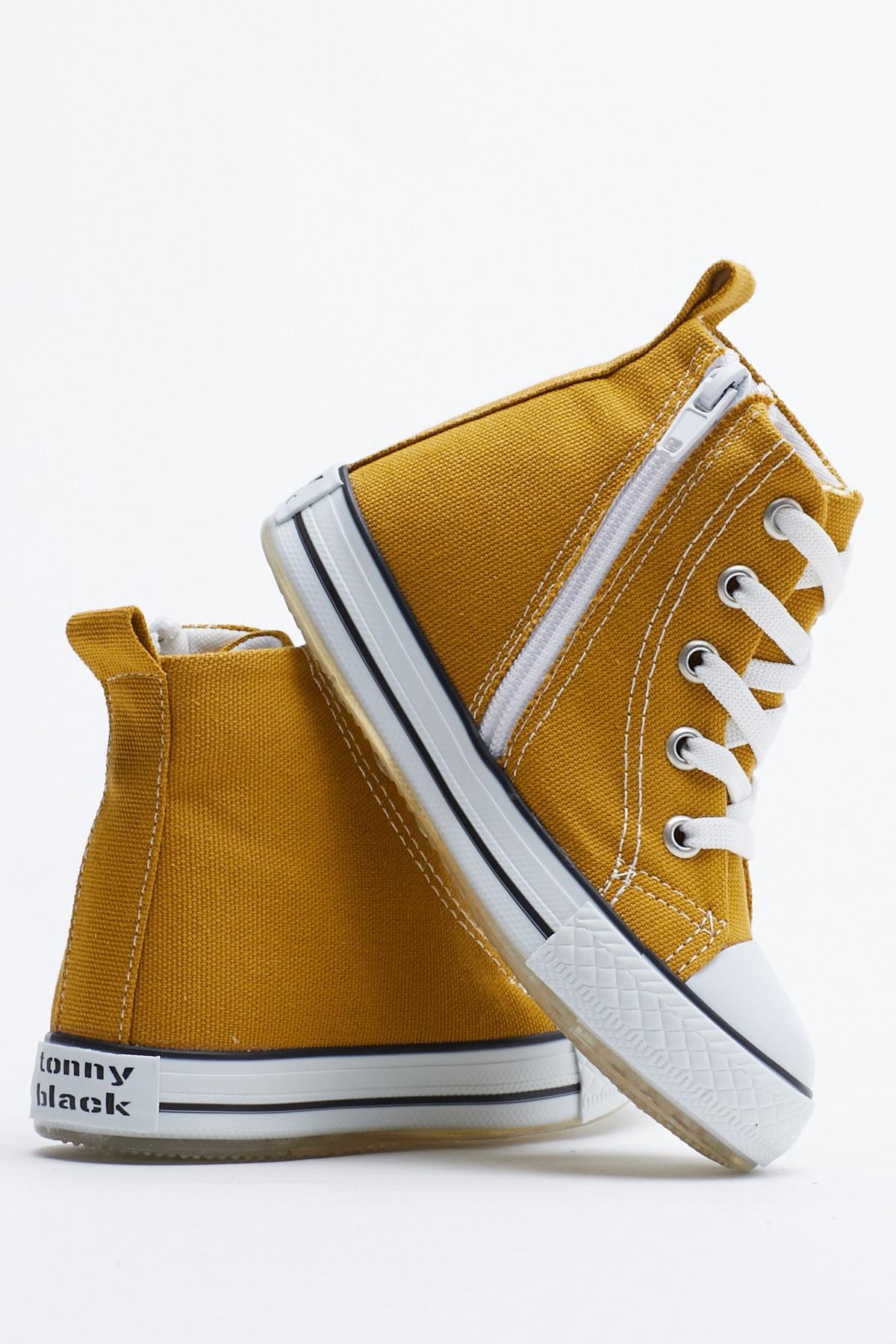 Tonny Black Hardal Çocuk Spor Ayakkabı Uzun Tb999 3