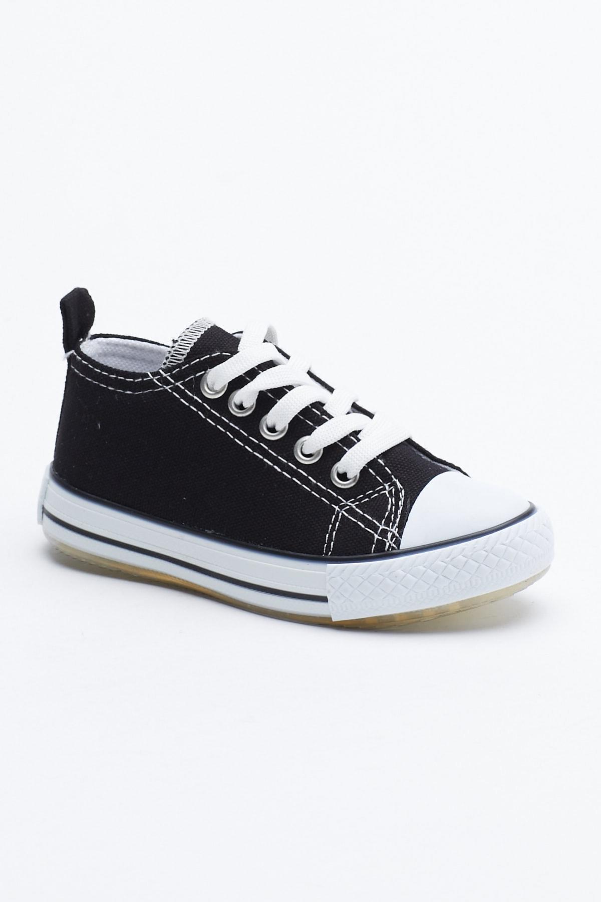 Tonny Black Siyah Çocuk Spor Ayakkabı Tb998 0