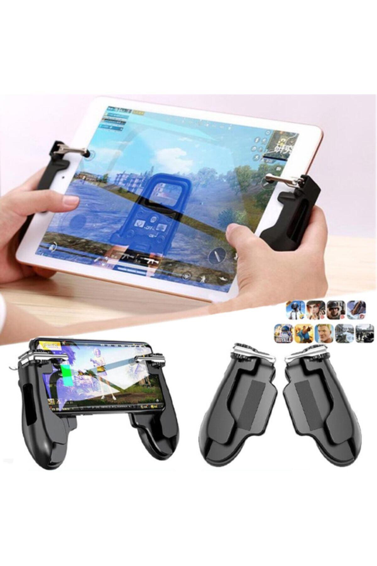 Tamanstore Pubg Tablet Ve Telefon Uyumlu Tetik Aparatı Joystick Pad Game  Handle H2 Fiyatı, Yorumları - Trendyol