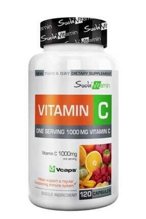 Suda Collagen Suda Vitamin Vitamin C 1000mg 120 Bitkisel Kapsül 0