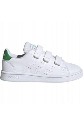 adidas ADVANTAGE C Beyaz Erkek Çocuk Sneaker Ayakkabı 100481637 0