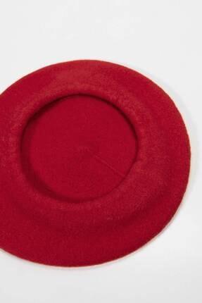 Addax Kadın Kırmızı Ressam Şapka 2