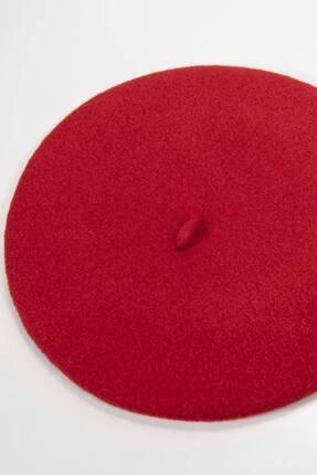 Addax Kadın Kırmızı Ressam Şapka 3