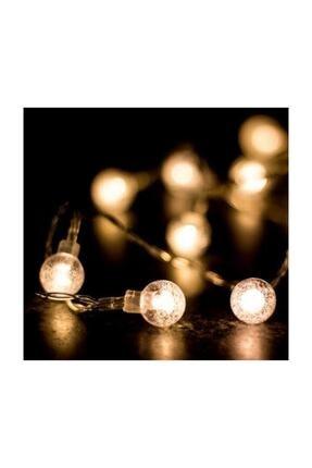 HediyeFilesi Kristal Top Süslü 2 Metre Led Işık Dekoratif 1