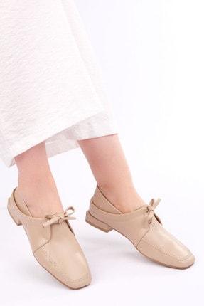 Marjin Kadın Bej Oxford Ayakkabı Borino 1
