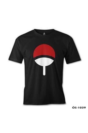 Lord T-Shirt Erkek Siyah Naruto - Uchiha Clan T-Shirt os-1039 1