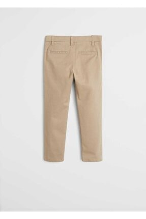 Mango Erkek Çocuk Bej Pantolon 1