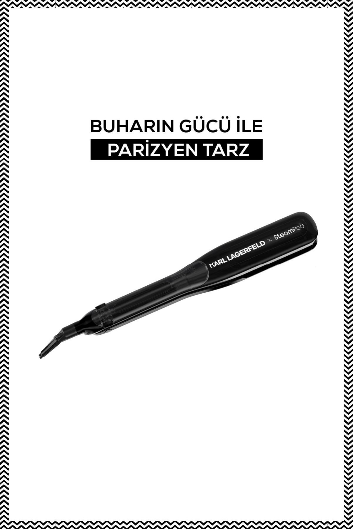 Steampod X Karl Lagerfeld 3.0 Limited Edition Buharlı Saç Şekillendiricisi