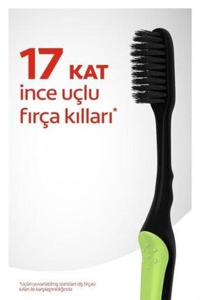 Colgate Mikro Ince Siyah Hassas Temizlik Yumuşak Diş Fırçası 1+1 + Diş Fırçası Kabı Hediye 1
