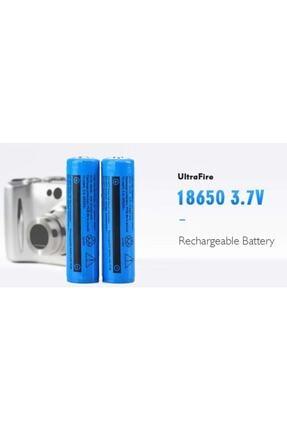 Ultrafire Şarjlı Pil Li-ıon 18650 3.7v 6800 Mah Şarjlı El Feneri Powerbank Pili 2