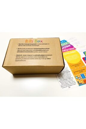 BiBi Box Bibibox Hafıza - Beyin Ve Zekâ Geliştirici Etkinlik Kutusu 3