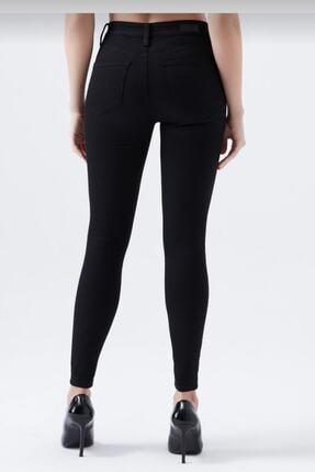 hacker Kadın Siyah Dar Paça Yüksek Bel Mükemmel Toparlayıcı Pantolon 1