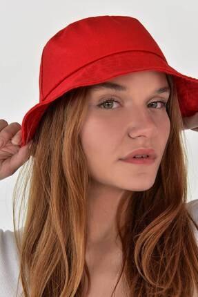 Addax Kadın Kırmızı Şapka Şpk507 - H13 Adx-0000021483 1