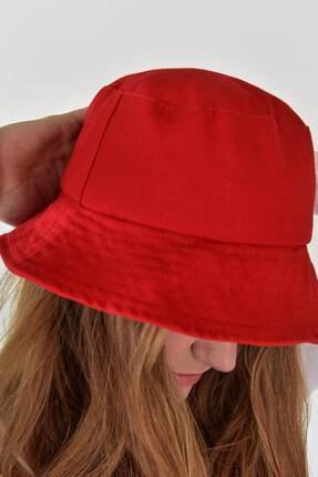 Addax Kadın Kırmızı Şapka Şpk507 - H13 Adx-0000021483 3