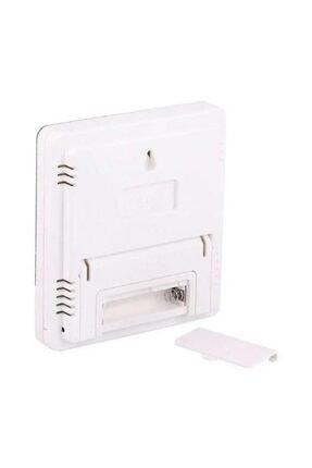 Elektronikport Htc-1 Dijital Termometre Sıcaklık Ve Nem Ölçer Masa Saati Alarm 3