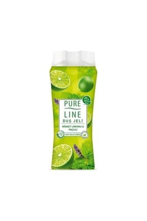 Pure Line Duş Jeli Misket Limonu & Paçuli 400 ml 2