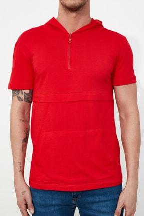 TRENDYOL MAN Kırmızı Erkek Regular Fit T-Shirt TMNSS20TS1360 2