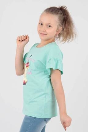 Ahenk Kids Kız Çocuk Elma Baskılı Tshirt Ak721507 1