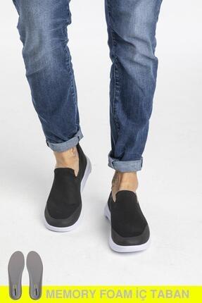 LETOON Erkek Siyah Triko Spor Ayakkabı Ltn03 0