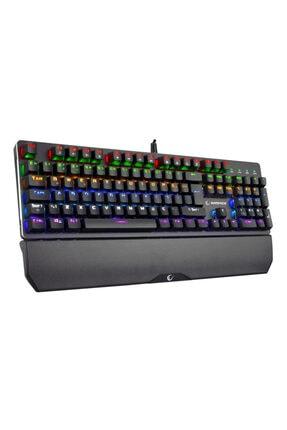 Rampage Kb-r81 Rgb Aydınlatmalı Mekanik Mavi Switch Oyuncu Klavyesi + Klavye Mouse Pad 2
