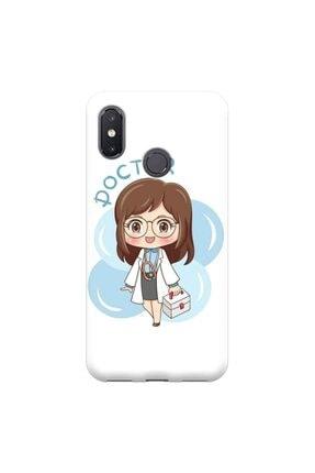 Xiaomi Mi 8 Uyumlu Hemşire Tasarımlı Telefon Kılıfı Y-hms009 rengeyik000315108