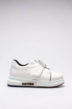 Rovigo Kadın Beyaz Cilt  Spor Ayakkabı 1